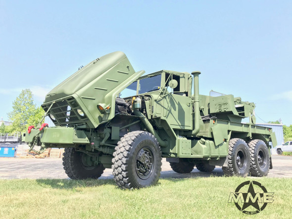 2012 BMY M936A2 Military 6x6 Wrecker Truck With 17' Boom &  35,000lbs winch