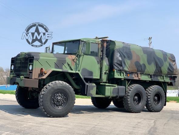 1985 M923A1 5-TON MILITARY 6 X 6 Cargo Truck