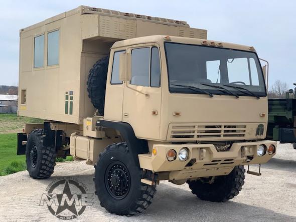 1994 Stewart & Stevenson M1079 2 1/2 Ton LMTV 4x4 Camper Truck