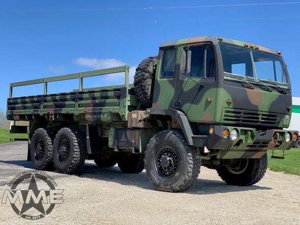 1996 Stewart & Stevenson M1085 (LWD) Long Wheel Base MTV 6x6 Cargo Truck