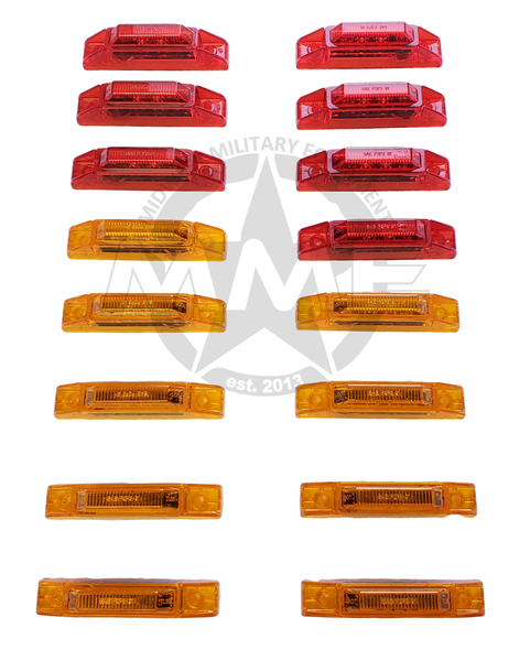 LED SIDE MARKER LIGHT KIT FOR MTVR OSHKOSH MK23