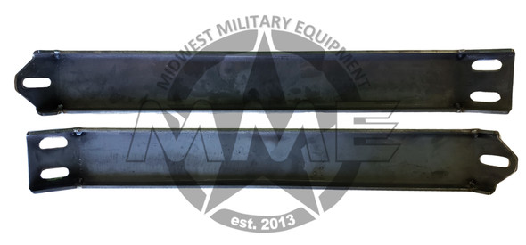 Airlift Bumper Rear Outer Support Brackets Replacement for HMMWV/HUMVEE