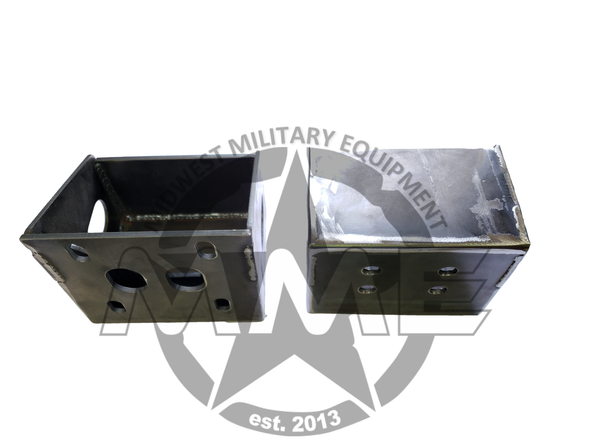 Airlift Bumper Rear Mounting Brackets (Pair) For HMMWV/ HUMVEE