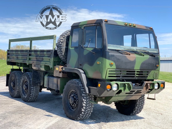1998 Stewart & Stevenson M1083 MTV 6x6 Cargo Truck