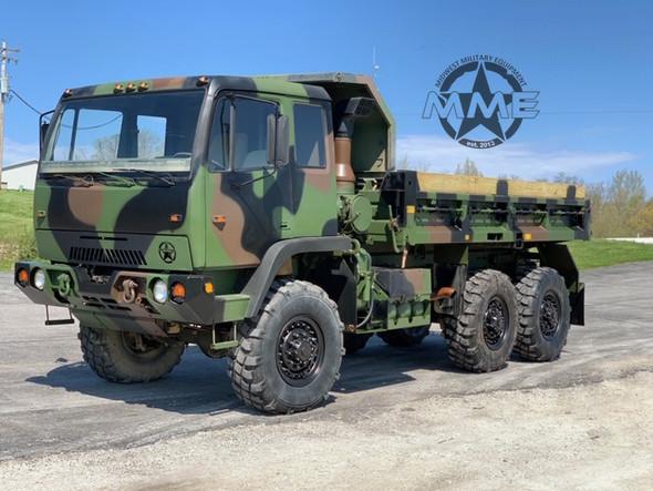1994 Stewart Stevenson M1090 5-Ton MTV 6x6 Dump Truck