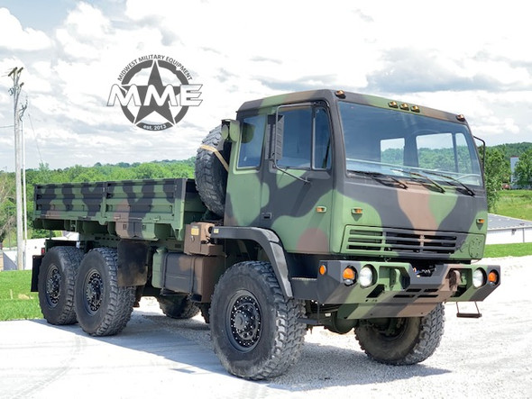 1997 Stewart & Stevenson M1083 5Ton 6X6 Military Cargo Truck