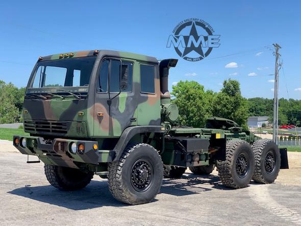 1998 Stewart & Stevenson M1088 Military 5TON MTV 6x6 Tractor Truck