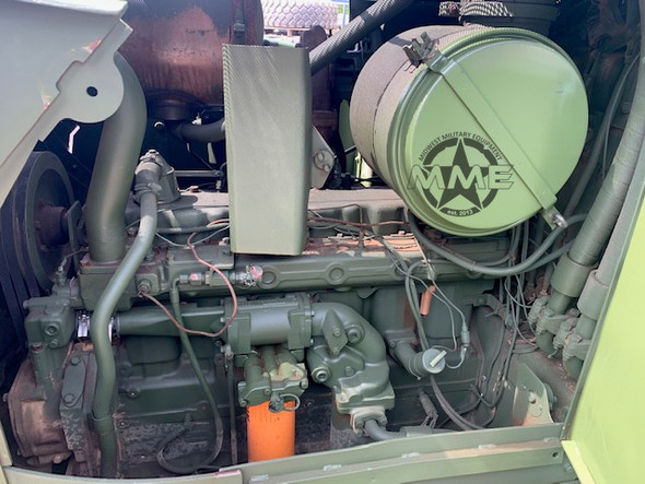 Caterpillar D7-F Dozer Ex-Military With Hyster Rear Winch ONLY 270 Hours