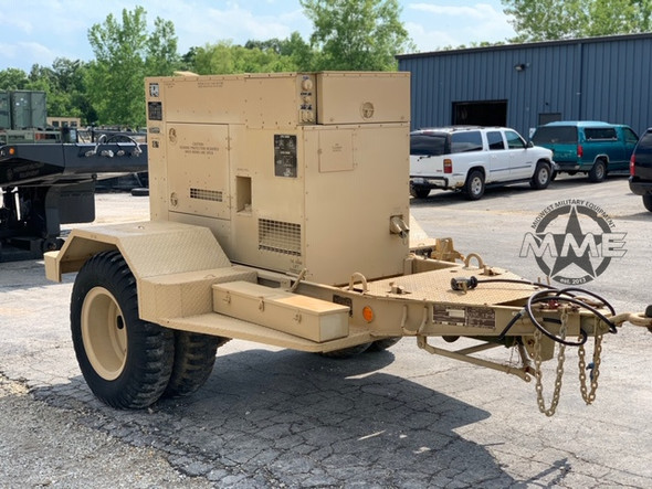 15 KW MEP-804A DIESEL MILITARY TACTICAL QUIET GENERATOR ( 110 Hours)