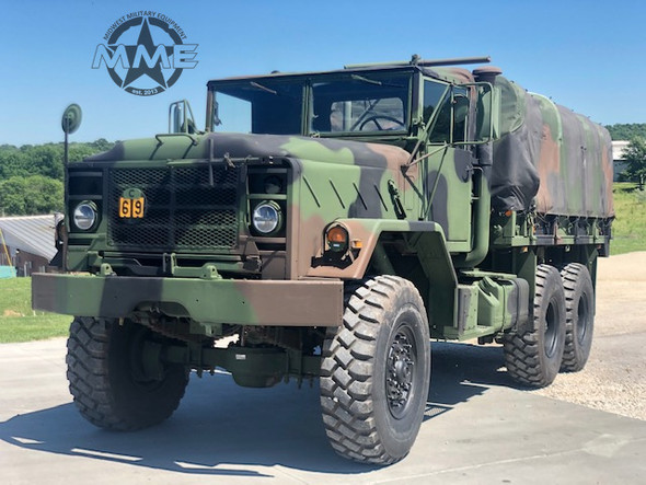 1990 BMY M923A2 Military 5 Ton 6X6 Cargo Truck