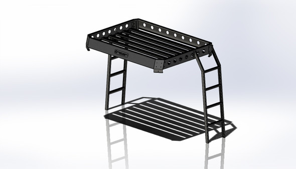 Modular Roof Rack Assembly With Ladders For LMTV & MTV
