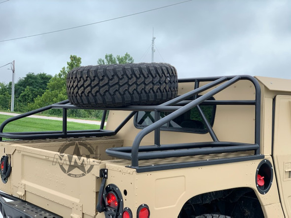 Baja Spare Tire Rack for HMMWV/ Humvee/ H1