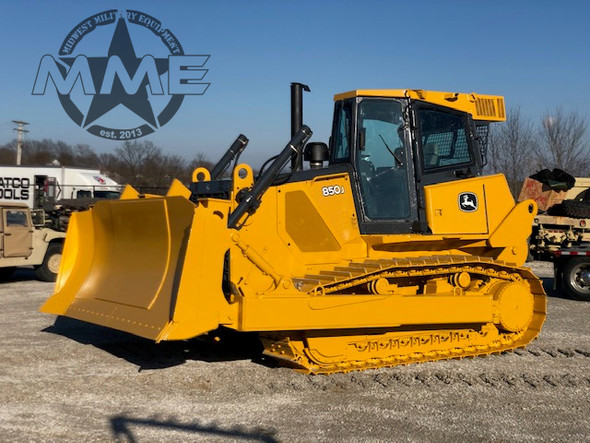 2009 John Deere 850JR WT Dozer W/Winch Low Hours!!
