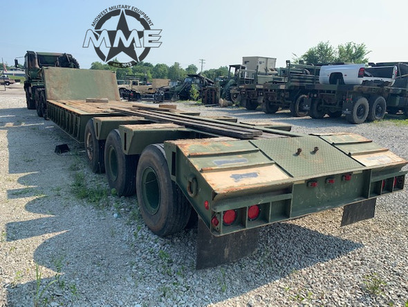 Load King 40 Ton XM870 Military Equipment Trailer