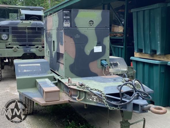 2009 MEP-805B 30KW 60Hz Military Diesel Generator & Trailer