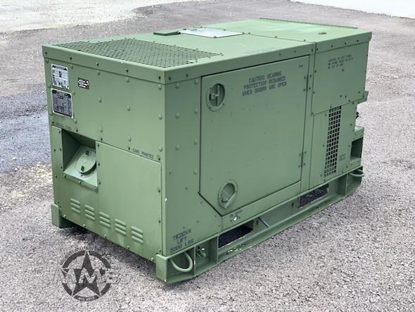 2011 MEP803A 10KW DIESEL QUIET GENERATOR 120/240/208 V AC 60HZ