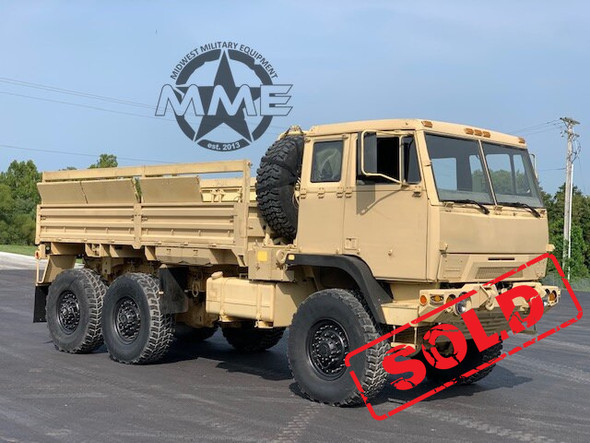 2009 BAE Systems M1093A1 5 Ton MTV 6x6 Cargo Truck W/Air Conditioning