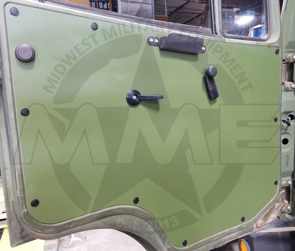 LMTV/MTV/FMTV Replacement Aluminum Door Panel (Raw Aluminum)