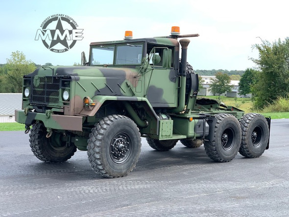 1990 BMY M931A2 6x6 Tractor Truck W/Hard Top