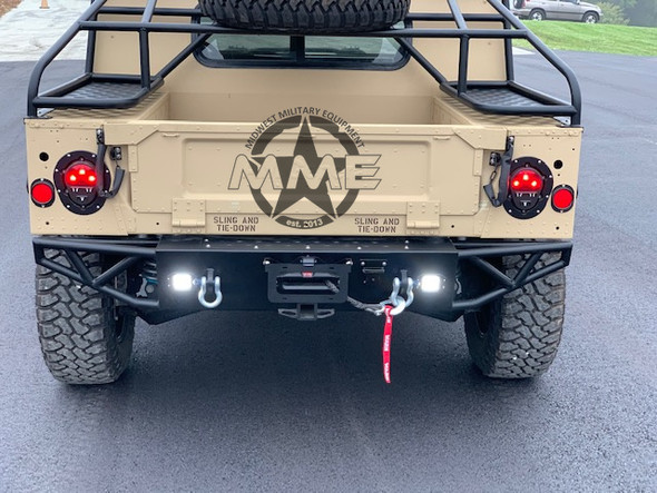 MME BAJA Rear Winch Bumper