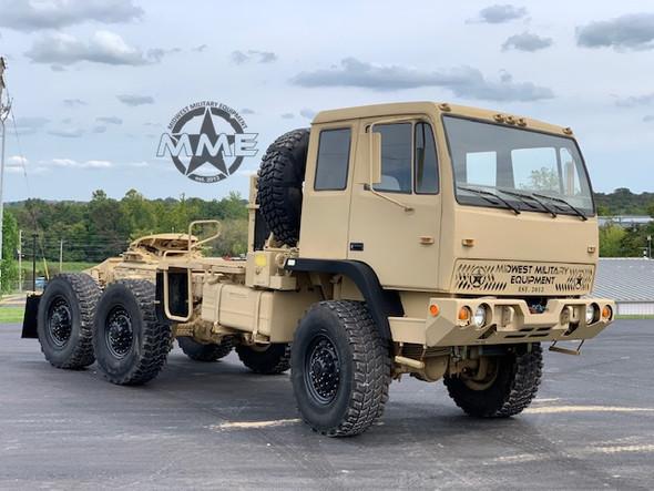 2001 Stewart & Stevenson M1088A1 5 Ton 6x6 Military Semi Truck Tractor