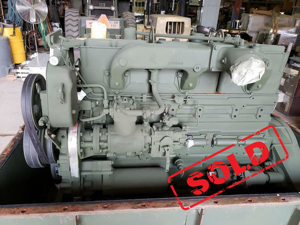 Complete Cummins NHC250 855ci Diesel Engine .