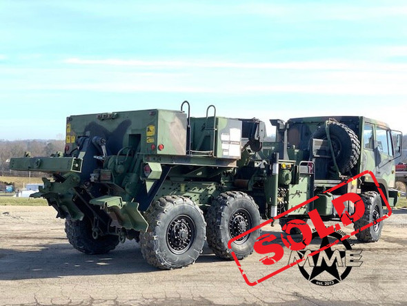 1994 Stewart & Stevenson M1089 Military 6x6 Wrecker Truck