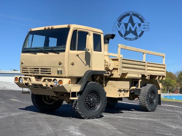 1997 Stewart & Stevenson M1078  2 1/2 Ton Cargo Truck 4X4