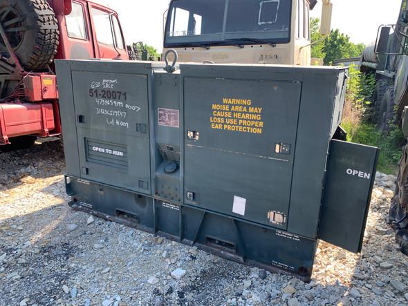 100KW MEP007B MILITARY Diesel Generator 314 Hours!!