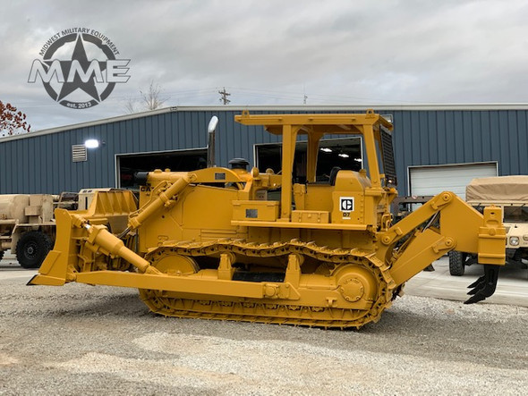 Caterpillar Ex-Military D7-F Dozer With 3 Shank Ripper