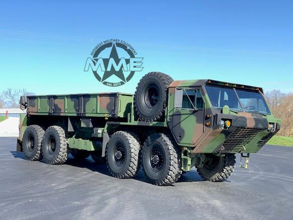 2003 M985A2 Oshkosh HEMTT 8X8 Truck With Material Handling Crane