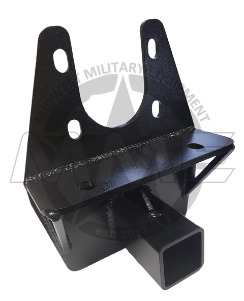 "LMTV/MTV 2 1/2"" Drop Hitch Trailer Receiver"