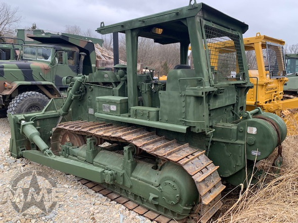 Ex-Military Caterpillar D7-F Dozer With Hyster Rear Winch