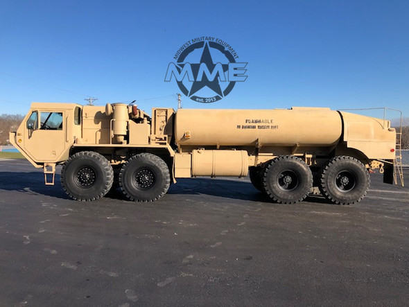 Oshkosh M978 Hemtt Fuel Tanker Truck 8x8 With Factory Winch