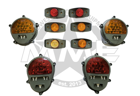 LED Light Conversion Kit With Buckets for M923, M925 (Green)