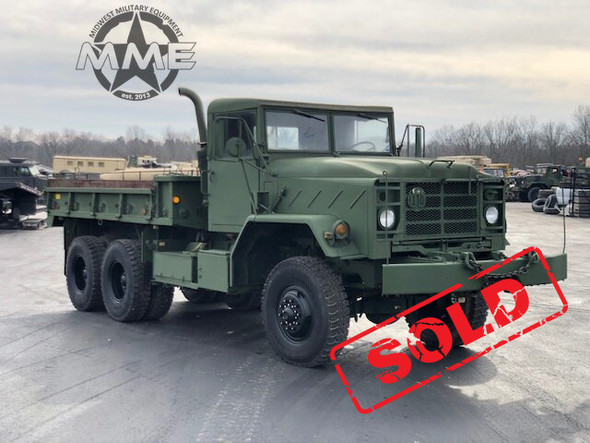 1984 Am General M925 5 TON MILITARY 6 X 6 Cargo TRUCK With Winch