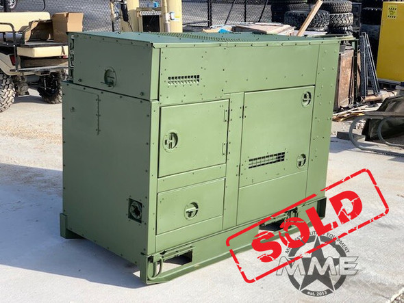 2006 15 KW MEP-804A DIESEL MILITARY TACTICAL QUIET GENERATOR (36 Hours)