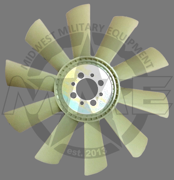 Replacement Cooling Fan 10 Blade for Humvee