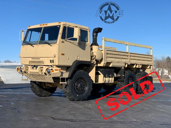 2009 BAE Systems M1093A1 MTV 5 Ton 6x6 Cargo Truck W/Air Conditioning