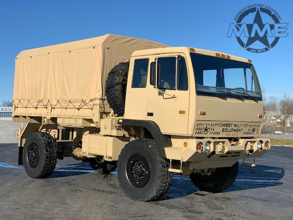 2002 Stewart & Stevenson M1078A1  LMTV 2 1/2 Ton Military Cargo