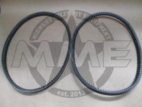 M923-M939 Series 5 Ton FAN CLUTCH BELT SET