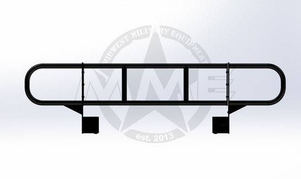 Modular Mil-Spec Style Front Tube Brush Guard for HMMWV/Humvee