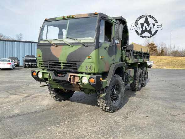 1994 Stewart Stevenson M1090 5-Ton 6x6 Dump Truck