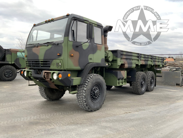 1995 Stewart & Stevenson M1085 ( LWD ) Long Wheel Base MTV 6x6 Cargo Truck
