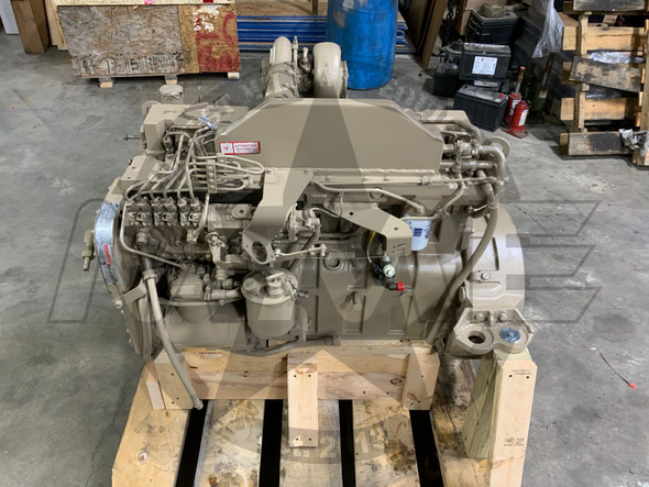 Cummins 8.3L 6 CTA Engine Good Used Take Out