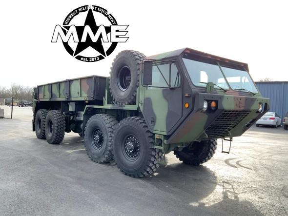 1984 M985 Oshkosh HEMTT 8X8 Truck With Material Handling Crane