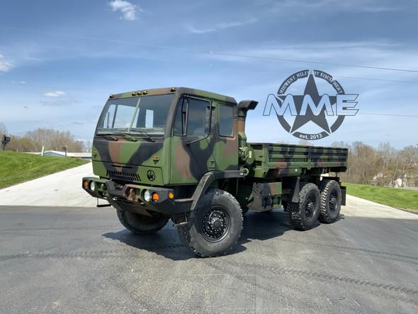 1997 Stewart & Stevenson M1083 5 Ton 6X6 Military Cargo Truck