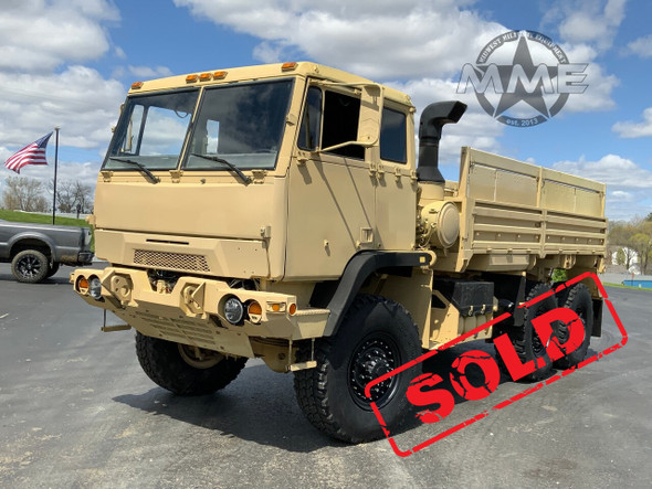 2009 BAE Systems M1093A1 MTV 5 Ton 6x6 Cargo Truck W /Air Conditioning