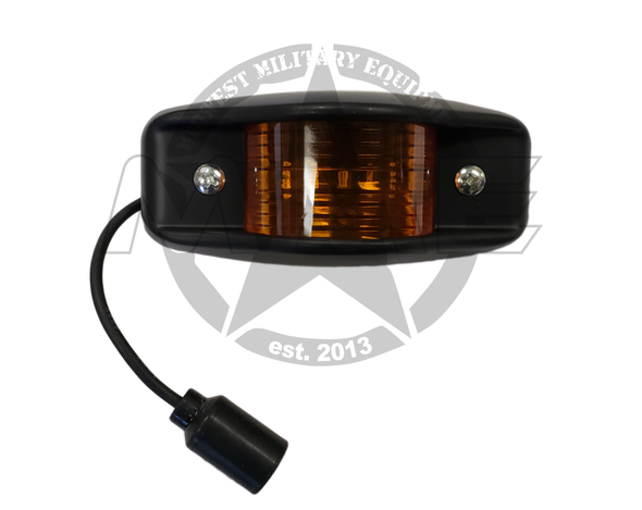 Replacement LED Amber Side Marker Light (Black)
