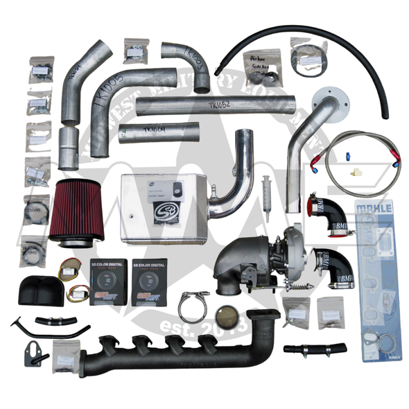 Bolt-On Humvee Turbo Kit For 6.2/6.5L